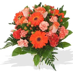 Orange bouquet - $55
