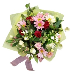 Colourful Posy for Mother and Baby from Flower Biz Christchurch