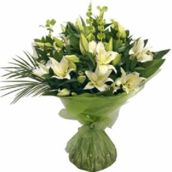 Fresh White Lillies from Flower Biz Christchurch